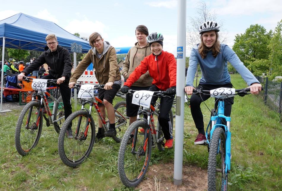 Mountainbiker Oberfränkische Meisterschaften.JPG